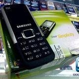 Samsung E1125 - สนุกกับไลฟ์สไตล์ง่ายๆ กับมือถือทรงเรียบๆ ทนทานด้วยวัสดุโลหะ