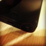 รอยถลอกของ iPhone 5
