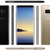 เปรียบเทียบขนาดมือถือจอใหญ่กับ Galaxy Note 8