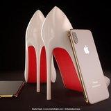 แนวคิด iPhone X สีทอง Blush Gold และสีแดง (PRODUCT) RED