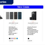 อุปกรณ์เสริม Samsung Galaxy S8