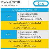 ราคา iPhone 6