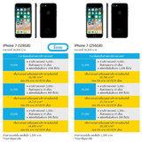 ราคา iPhone 7 และ iPhone 7 Plus dtac