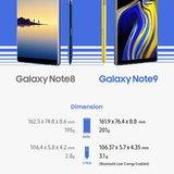 Samsung Galaxy Note 8 VS Samsung Galaxy Note 9