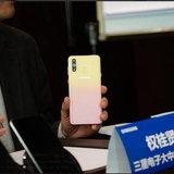 Galaxy A8s FE สีหวาน
