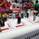 บรรยากาศบูธ Huawei