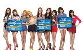 เมื่อ 9 สาว Girls Generation มาร้องเพลงโปรโมต Intel Core processor รุ่นที่ 2