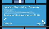 ยืนยันด้วยภาพ Nokia เตรียมเปิดตัว Nokia Windows Phone 8 วันที่ 5 กันยายนนี้แน่นอน
