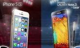 iPhone 5S VS Note3 ศึกชิงแชมป์สมาร์ทโฟน 2013 ท้าชนหมัดต่อหมัด