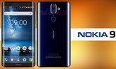 Nokia 9 หลุดภาพเรนเดอร์ โชว์จอขอบโค้งพร้อมกล้องคู่ Carl Zeiss คาดใช้ชิปเซ็ต Snapdragon 835