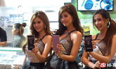 รวมภาพพริตตี้ เด่น ประดับงาน Thailand Mobile Expo 2016 Hi End