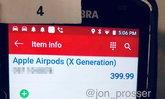 หลุดข้อมูล AirPods (X Generation)หูฟังแบบครอบรุ่นใหม่ของ Apple