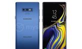 """หลุด! ภาพเรนเดอร์ """"Samsung Galaxy Note9"""" สีฟ้า Coral Blue และกล่องบรรจุภัณฑ์"""