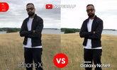 เปรียบเทียบกล้อง Galaxy Note 9 กับ iPhone X
