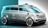 Volkswagen จะทดสอบระบบรถยนต์ไฟฟ้าที่มีดีไซน์คล้ายรถตู้ ID.Buzz