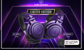 Audio Technica ผยโฉม ATH-M50xBT Purple Black และ ATH-M50x Purple Black รุ่น Limted Edition