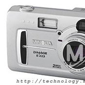 Minolta DiMAGE E223