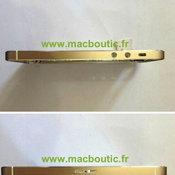 ภาพหลุด iPhone 5S สีทอง