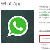 WhatsApp หายไปจาก Windows Phone Store