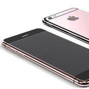 iPhone 6S สีชมพู Rose Gold