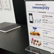 บรรยากาศและของจัดแสดงใน Samsung Galaxy Studio