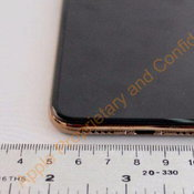 ภาพ iPhone X สีทอง