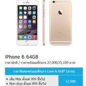 แนะนำโปรโมชั่นซื้อ iPhone