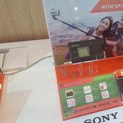 บรรยากาศบูท Sony
