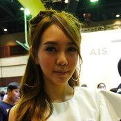 Pretty & MC งาน Thailand Mobile Expo 2017