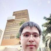 ภาพจากกล้องหน้า Vivo V15 Pro