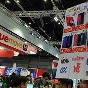 ส่องป้ายโปรโมชั่นเริดในงาน Thailand Mobile Expo 2019