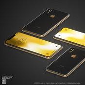 ภาพคอนเซ็ปต์ iPhone XS และ iPhone X Plus