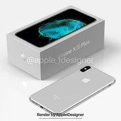 ภาพแนวคิด iPhone X Plus