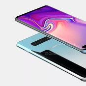 ภาพ Render ของ  Samsung Galaxy S10+