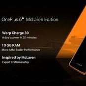 One Plus 6T Mclaren Limited Edition