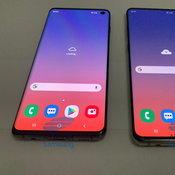 ตัวเครื่อง Samsung Galaxy S10 และ Samsung Galaxy S10+