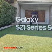 ภาพ Samsung Galaxy S21+