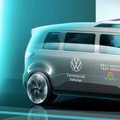 Volkswagen จะทดสอบระบบรถยนต์ไฟฟ้าที่มีดีไซน์คล้ายรถตู้ IDBuzz