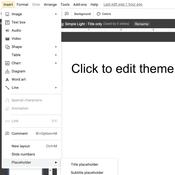 Google Slides เพิ่มฟีเจอร์ Placeholder สำหรับใส่รูปและข้อความ ช่วยให้ออกแบบสไลด์ได้ง่ายขึ้น
