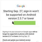 ขีดเส้นตาย Android รุ่นเก่าจะใช้งาน Gmail YouTube และแอปกูเกิลอื่น ๆ ไม่ได้แล้วนะ