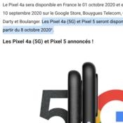 Google ทำหลุด Pixel 5 อาจเปิดตัวต้นเดือนตุลาคมนี้