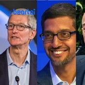 รัฐบาลสอบยักษ์ใหญ่ Apple Google Amazon และ Facebook