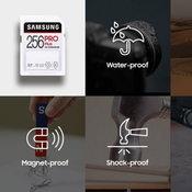 Samsung เปิดตัว SD Card PRO Plus and EVO Plus สุดถึกทน ตกก็ไม่พัง ตกน้ำก็ไม่ไหล ตกไฟก็ไม่ไหม้