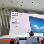 บรรยากาศในงานเปิดตัว Lenovo Yoga Series
