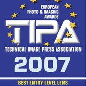 Nikon ได้รับรางวัล TIPA 2007