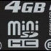 คิงส์ตันส่ง miniSDHC ความจุ 4 กิกะไบต์ลงตลาด