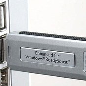 windows: ใช้แฟลชไดรฟ์แทน RAM?