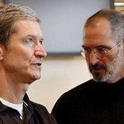 Tim Cook CEO+Steve Jobs