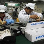ภาพโรงงาน Foxconn