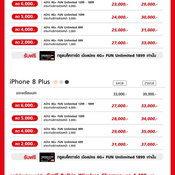 ราคา iPhone 8 จากทรูมูฟ เอช